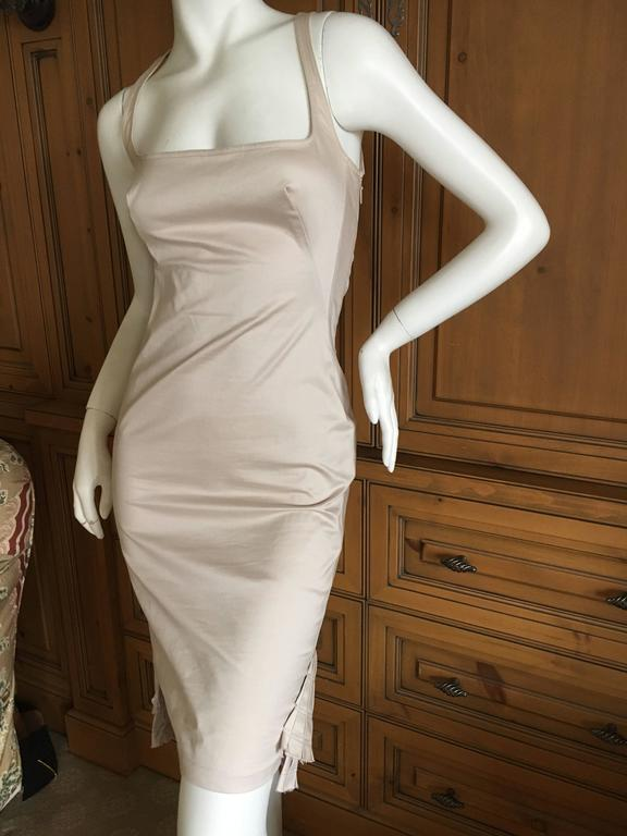 Women S Gucci By Tom Ford Dress And Jacket With Fan Tail Pleating For