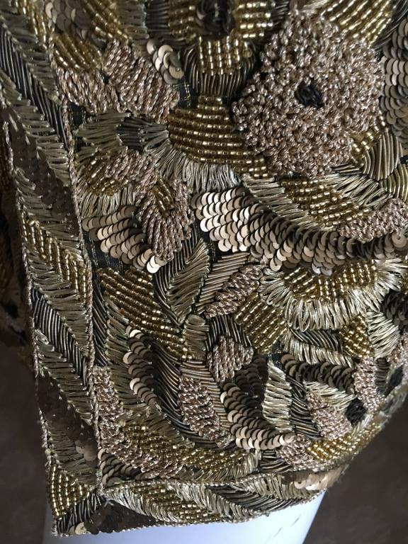 Balmain Haute Couture Lesage Embellished Dress or Jacket by Oscar de la Renta 2