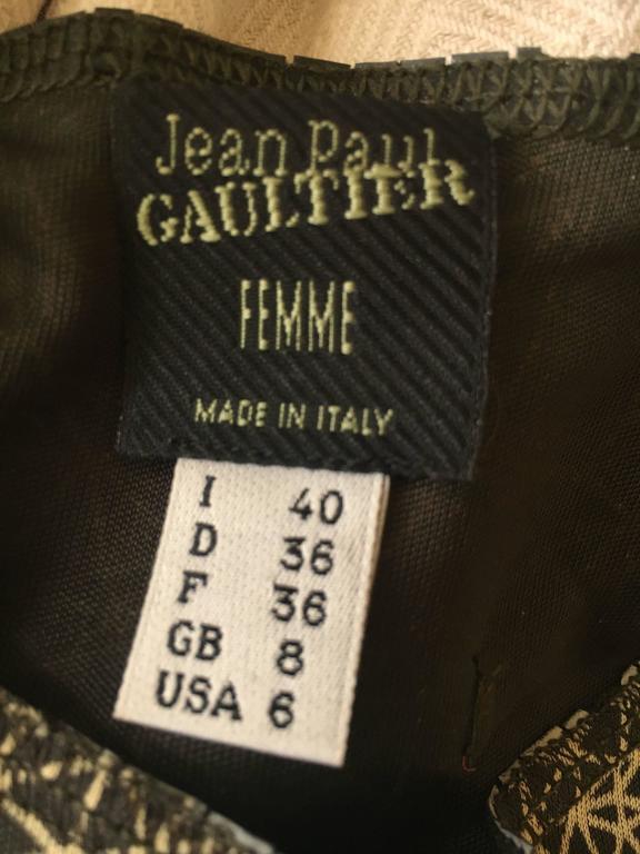 Jean Paul Gaultier Femme Face Print Tank Top 6