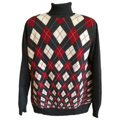 Jean Paul Gaultier Homme Argyle Sweater