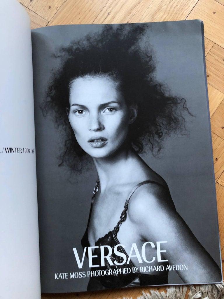 7404b342f8 Versace Catalogue Book No 31 Kate Moss by Richard Alvedon Autumn 1996-97
