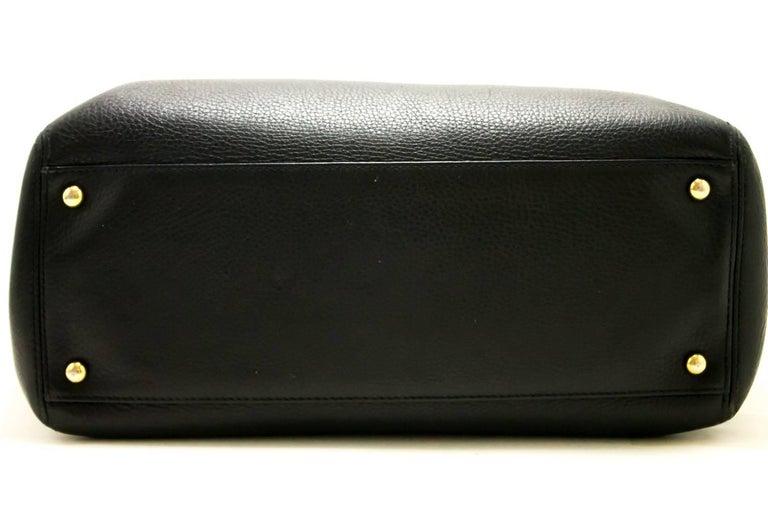 c17ce4e49069 CHANEL Executive Tote 2014 Caviar Shoulder Bag Black Gold Leather For Sale 3