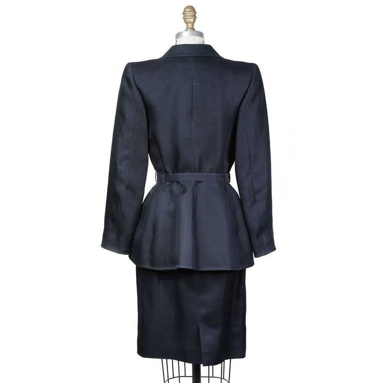 Yves saint laurent haute couture skirt suit 1980s for sale for Haute couture suits
