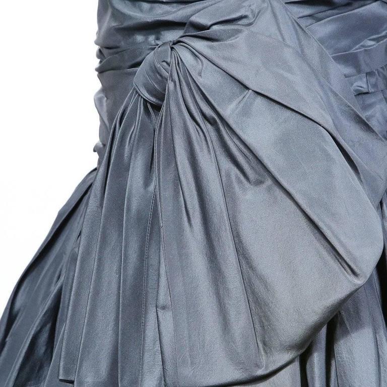 Yves Saint Laurent Haute Couture Dress circa 1980s 3