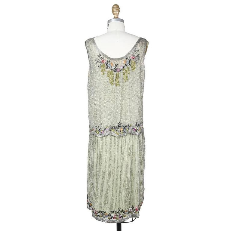 The Deco Stylist Tagged 1960 S Fashion The Deco Haus: Mint Colored Shift Dress Circa 1920s/1930s At 1stdibs