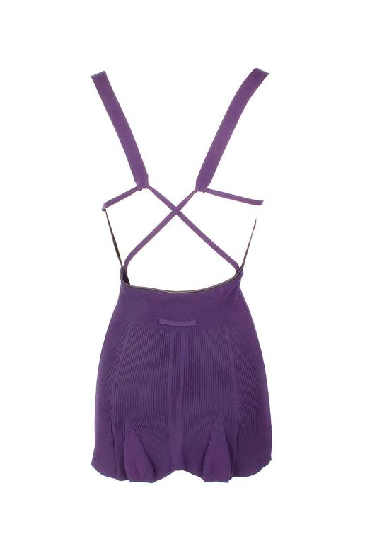 Jean Paul Gaultier Knit Tank with Cone Bra circa late 1980s/early 1990s 3