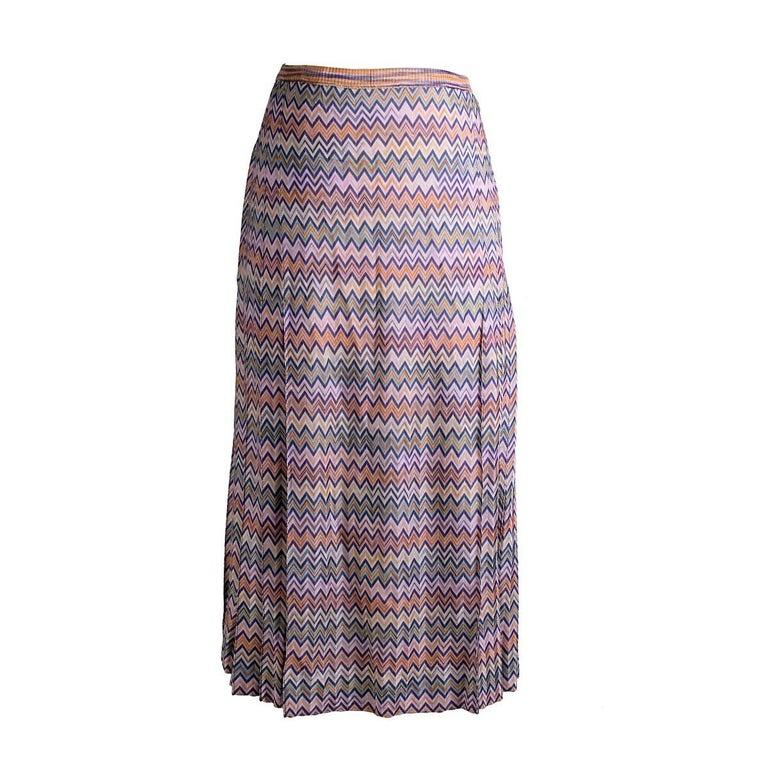 Missoni A Line Skirt, circa 1970s
