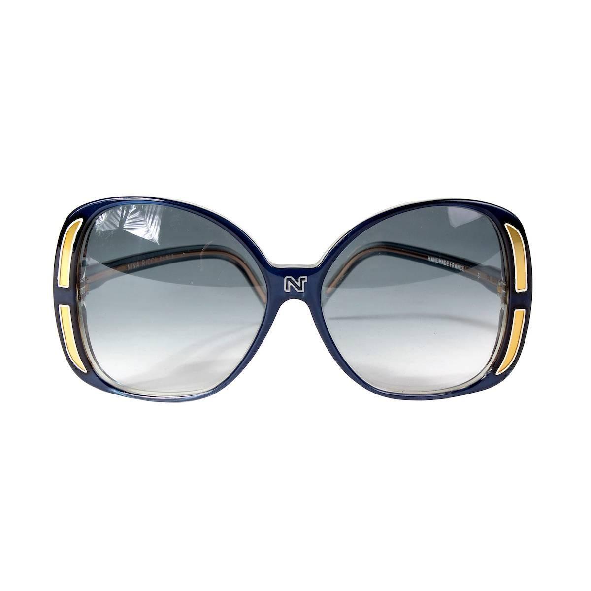 1ff27c5626 Vintage Nina Ricci Sunglasses - 6 For Sale at 1stdibs