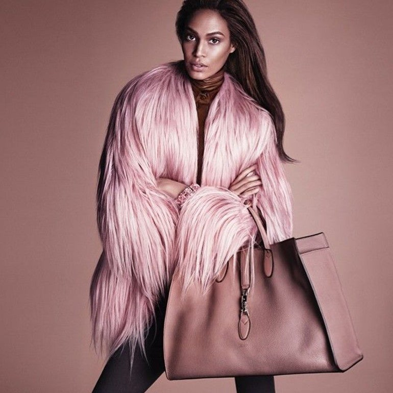 2001 Gucci by Tom Ford Pink Kidassia Fur Coat For Sale 4