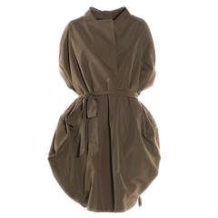 Vionnet Paris Grey Turteldove Trench