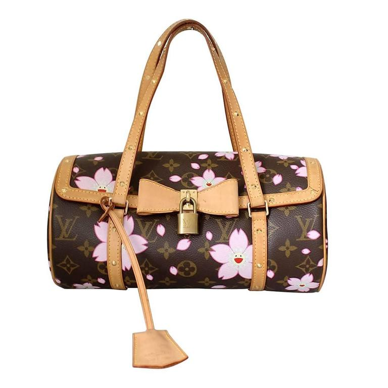 Louis Vuitton Cherry Blossom Papillon By Takashi Murakami For