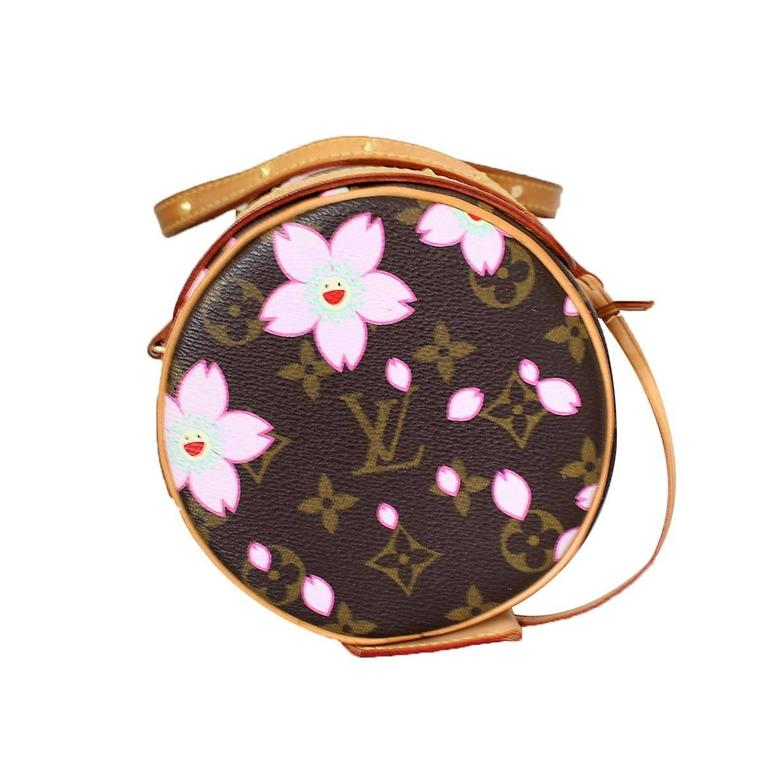 Louis Vuitton Cherry Blossom Papillon by Takashi Murakami at 1stdibs ee3d8f5700036