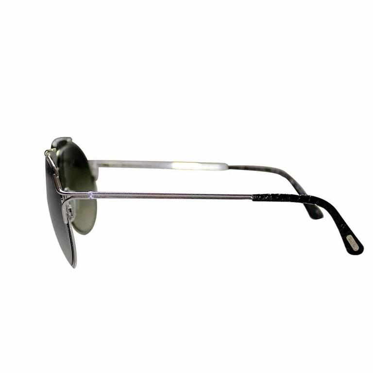 Bran New Tom Ford Alexander Limited Edition White Gold Sunglasses at ...