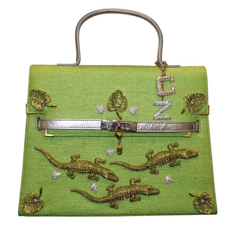 Carlo ZIni Milano Crocodiles Jewel Bag 1