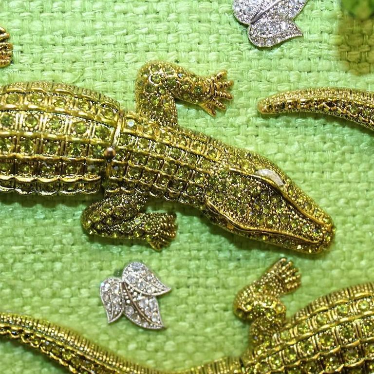 Carlo ZIni Milano Crocodiles Jewel Bag 5
