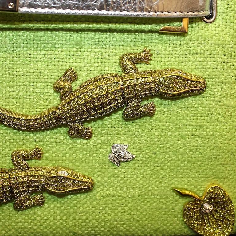 Carlo ZIni Milano Crocodiles Jewel Bag 6