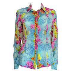 Versace Fancy Silk Shirt