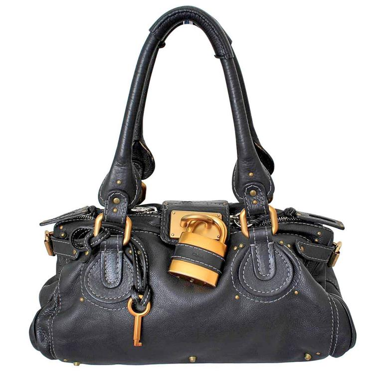 Chloé Paddington Black Leather Bag 1