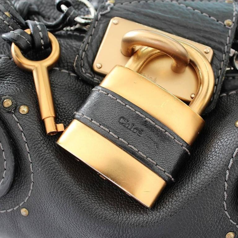 Chloé Paddington Black Leather Bag 3