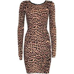 Bcbg MAX AZRIA Animalier Dress S