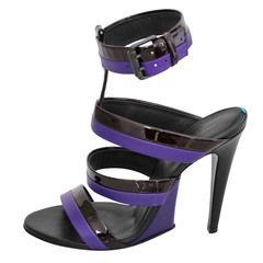 Bottega Veneta Leather High Sandal 40