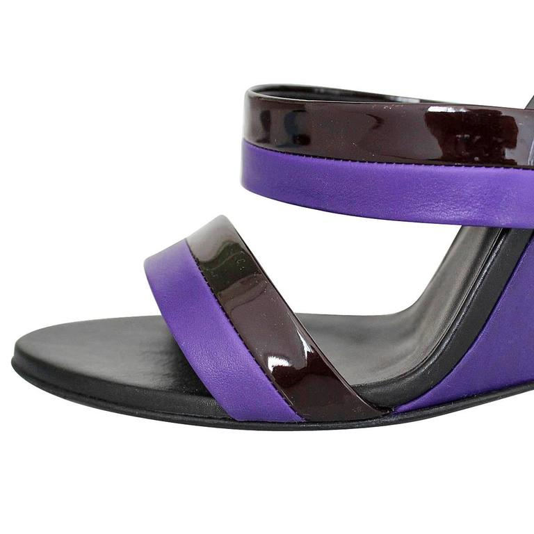 Bottega Veneta Leather High Sandal 40 In Excellent Condition For Sale In Gazzaniga (BG), IT