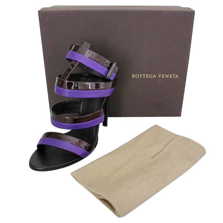 Bottega Veneta Leather High Sandal 40 6