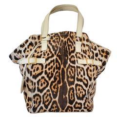 Saint Laurent Horsehair Animalier Bag