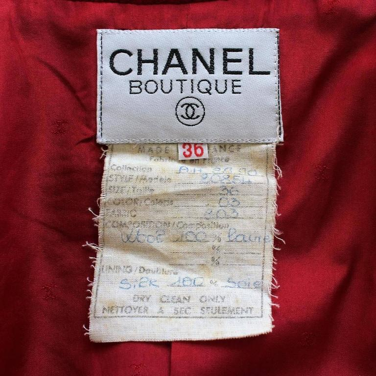 '89/'90 Chanel Jacket and Skirt Suit 4