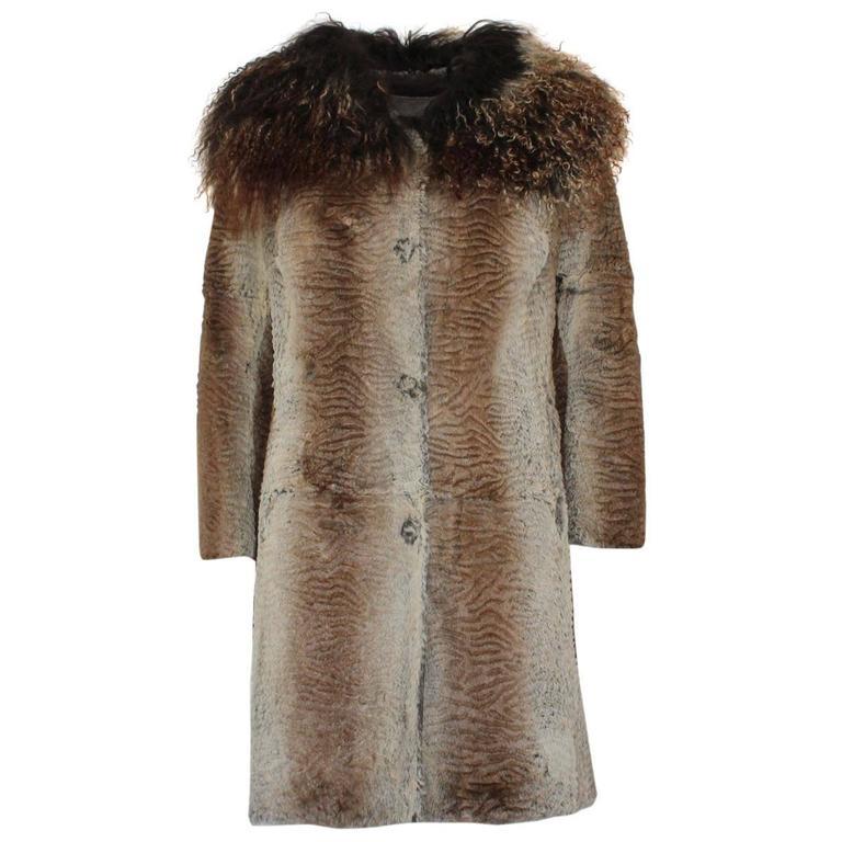 Lapin Shaded Fur Coat 10