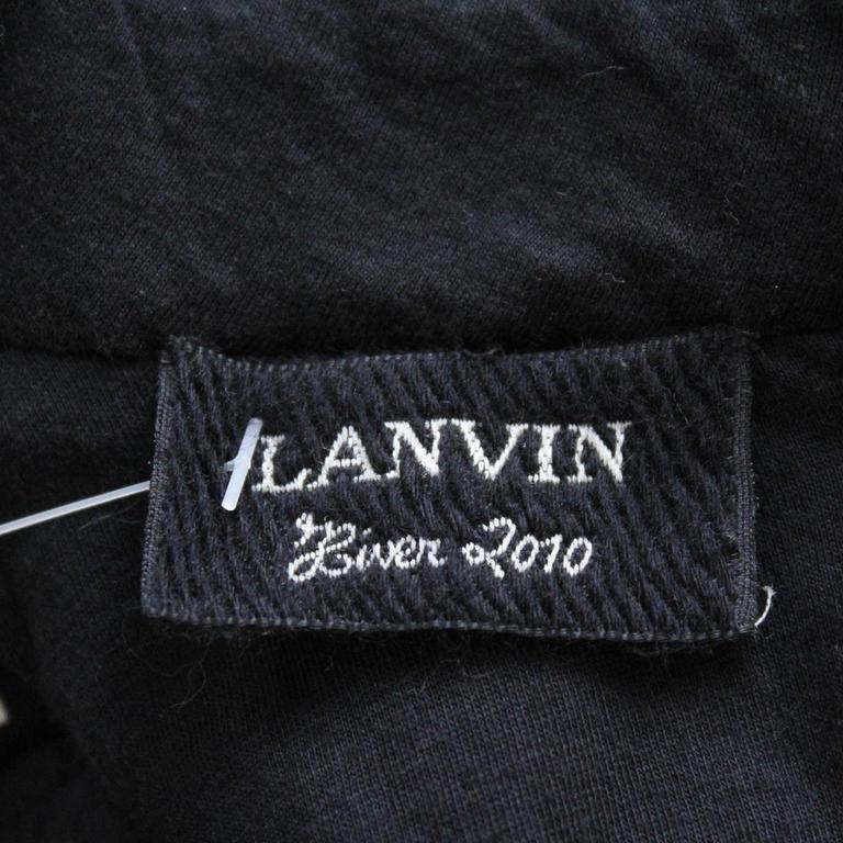 Women's 2010 Lanvin Runway Jewel Dress L For Sale