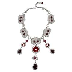 Unique Carlo Zini Owl Necklace