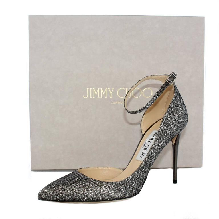 "Jimmy Choo London ""Lucy"" lamé pumps 6"