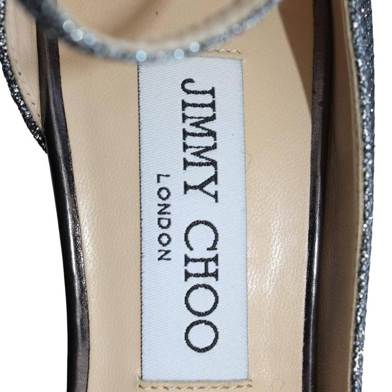 "Jimmy Choo London ""Lucy"" lamé pumps 5"