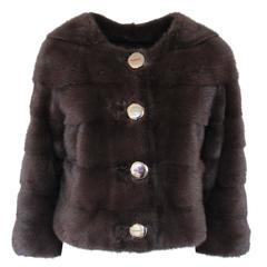 L'Atelier Paris Mink Fur Jacket