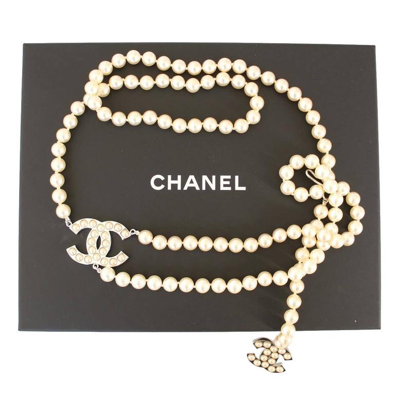 Chanel Pearls Belt 4