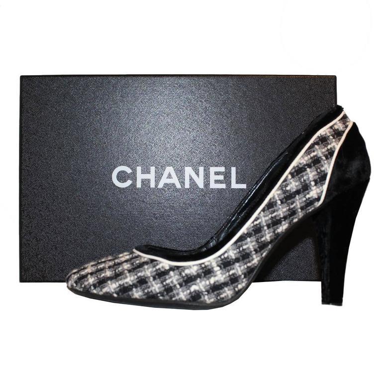 Chanel Tweed Décolleté 39 6