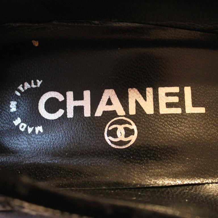 Chanel Tweed Décolleté 39 5