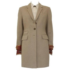 Barbara Bui Overcoat and Shirt Suit S