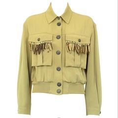 Ozbek Indians Inspired Vintage Jacket 42 IT