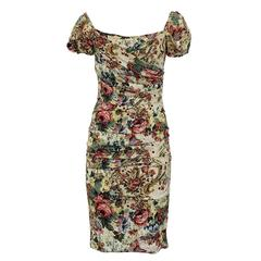Dolce & Gabbana Floral Dress 42