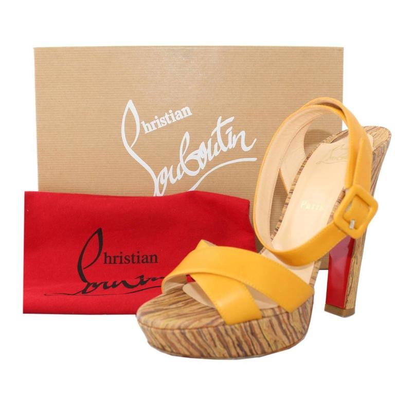 Christian Louboutin Glory 140 Sandal For Sale 1