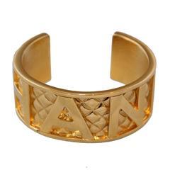 1997 Chanel Golden Bangle
