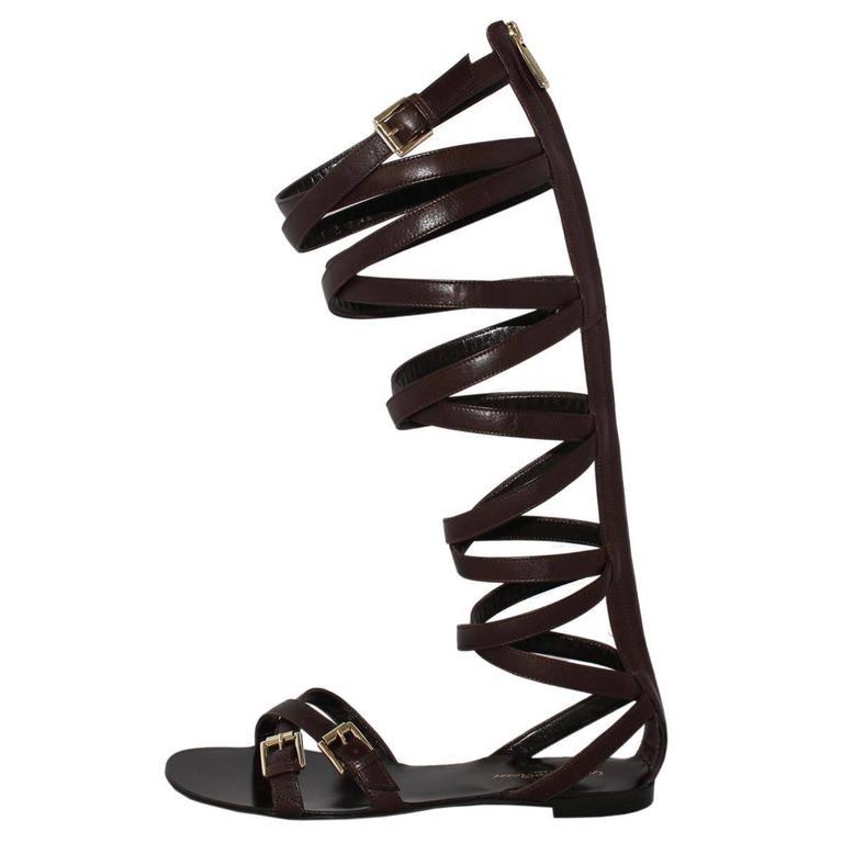 """Gianvito Rossi  """"Slave"""" Sandal 38 For Sale"""