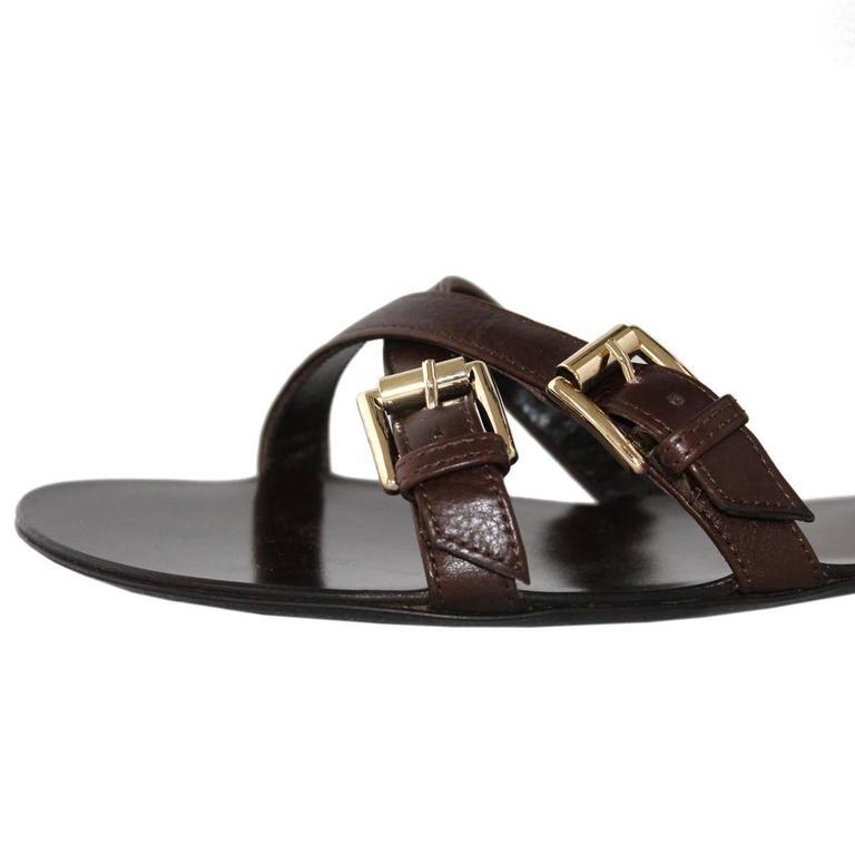 """Gianvito Rossi  """"Slave"""" Sandal 38 In New Never_worn Condition For Sale In Gazzaniga (BG), IT"""