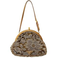 Prada  Golden Lace Pochette