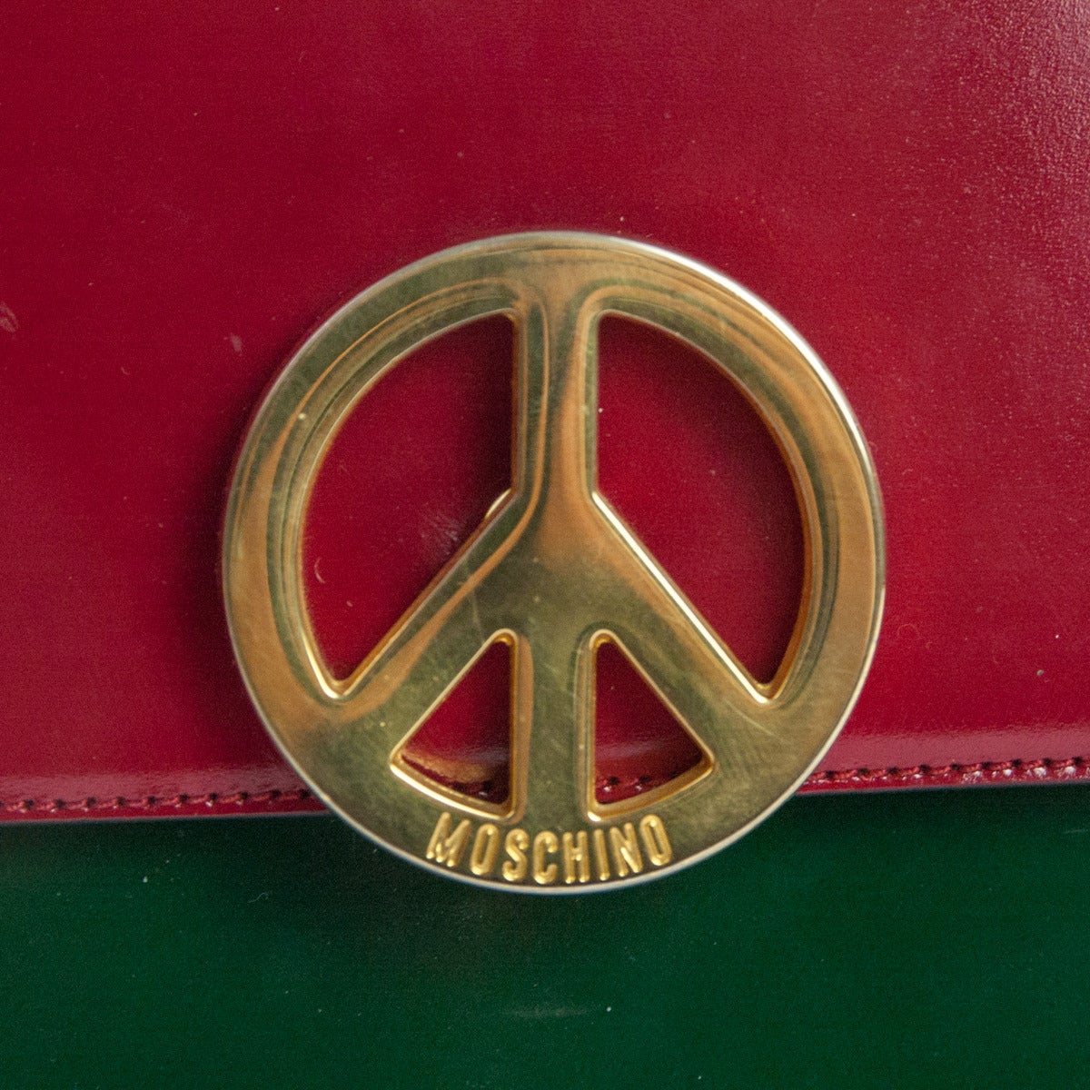 Late 1980s Moschino Redwall Peace&Love Multicolored 5
