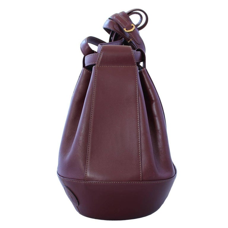 Iconic Cartier Bucket Bag