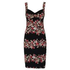 Dolce & Gabbana Floral Dress IT 40