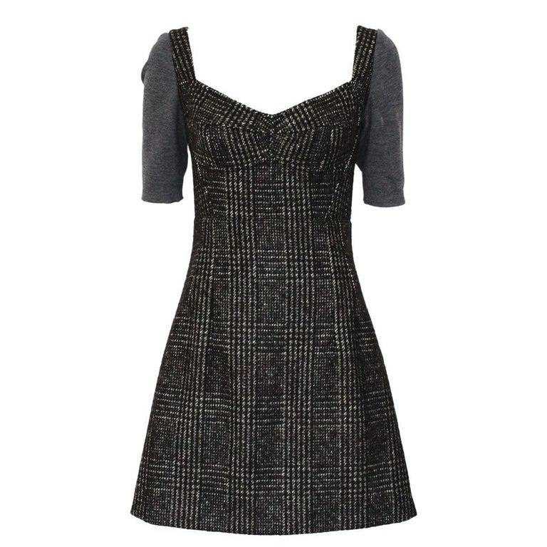 Dolce & Gabbana  Tweed Dress IT 40